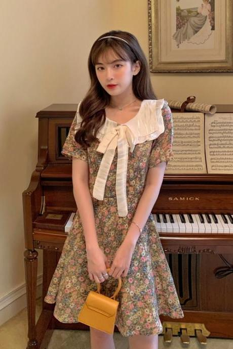 Summer Vintage Style A Line Fashion Dress