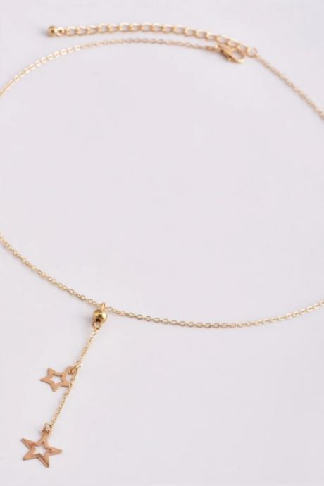 Stars Charmed Necklace