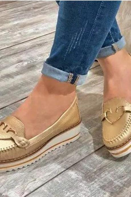 Women's Slip On Platform Sneakers