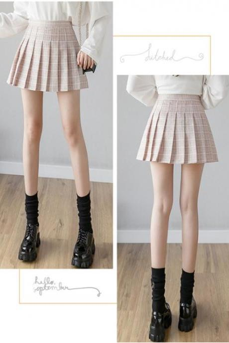 Cute Pleated Fashion Mini Skirts