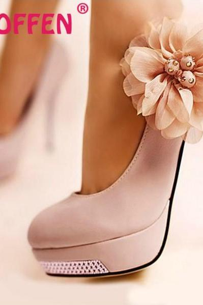 Gorgeous High Heel Fashion Shoes