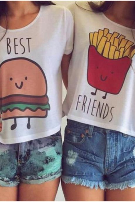 Cute Best friend Tops