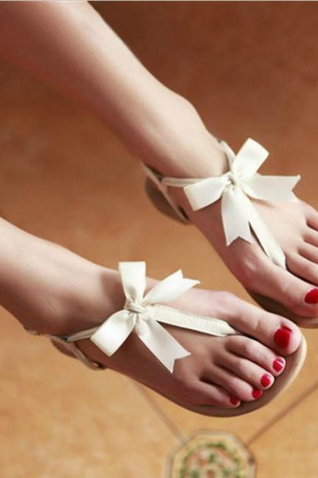 Bow Design Summer Sandals