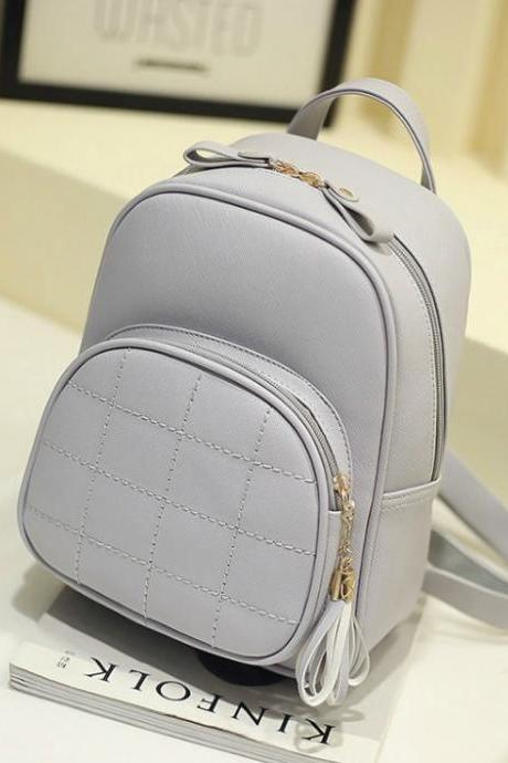 Adorable Tassel Design Women Bag Backpack