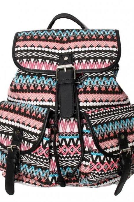 Tribal Design Backpack