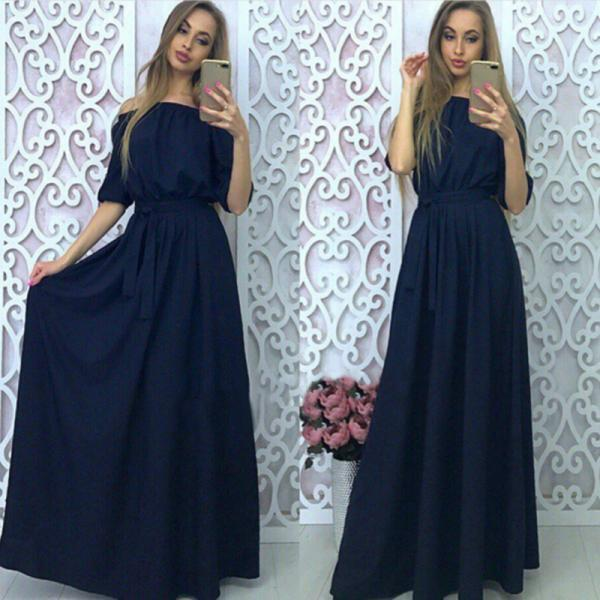 Beautiful Off Shoulder Long Dress
