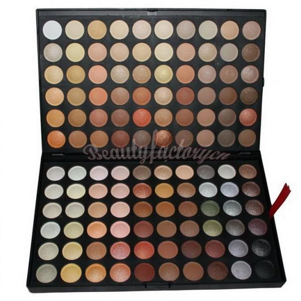 120 Pure Color Professional Eye Shadow Palette