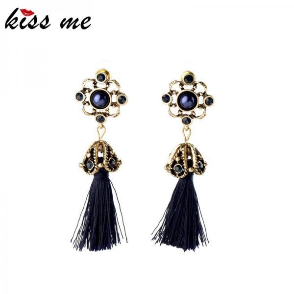 Elegant Vintage Retro Tassel Earrings