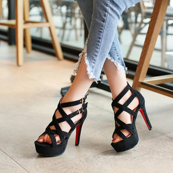 Gorgeous Gladiator High Heels Fashion Sandals