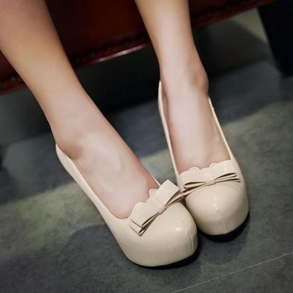 Beautiful Solid Color High Heels Fashion Shoes