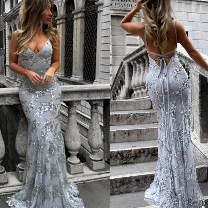 Sexy Sequined Lace Party Dress