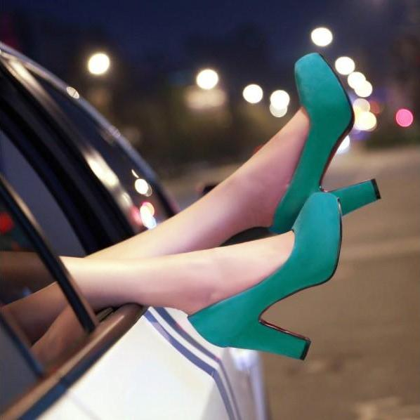 Chic High Heels Fashion Shoes