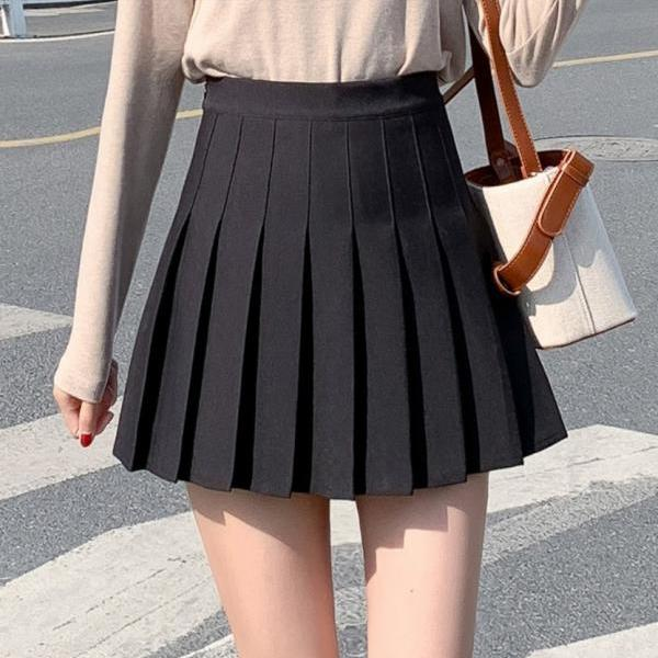 Cute Summer A Line Pleated Skirt