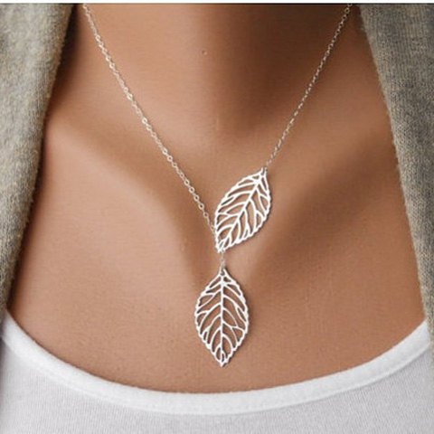 Leaf Charmed Necklace