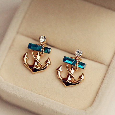 Cute Anchor Earrings