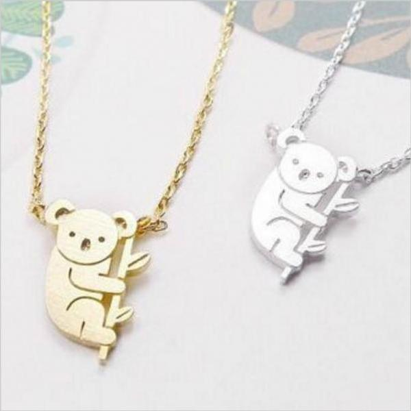 Cute Koala Necklace