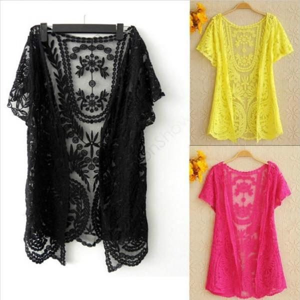 Beautiful Lace Kimonos