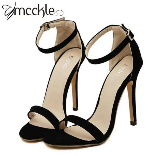 High Heel Stilettos Featuring Ankle Straps
