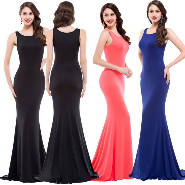 Gorgeous Sleeveless Long Mermaid Dress